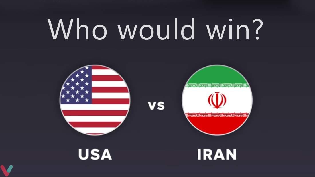 مقایسه نظامی ایران و آمریکا